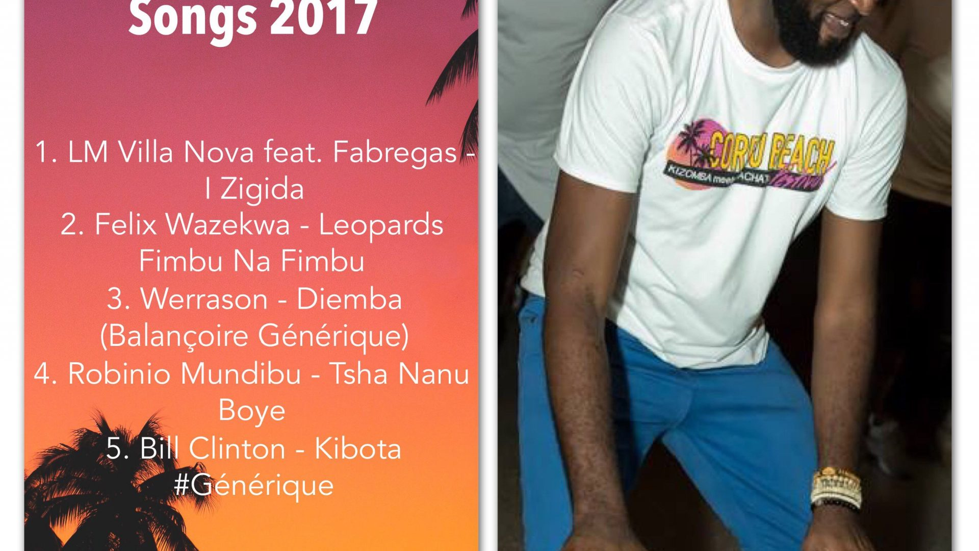 Blaise Mwami – Top 5 Congolese Songs of 2017