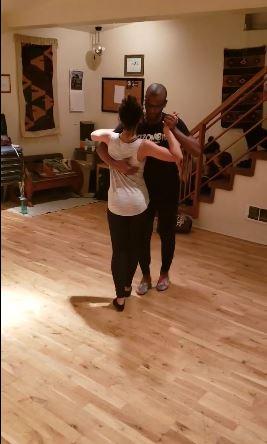 Eddy Vents & Elaine Raymond Dancing Kizomba To Zouk